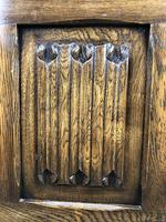 Vintage Carved Oak Blanket Box (9 of 10)