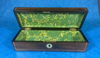 William IV Mother of Pearl Inlaid Rosewood Glove Box (12 of 14)