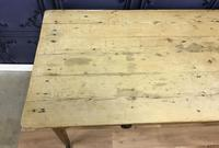 Georgian Two Drawer Pine Side Table (18 of 19)