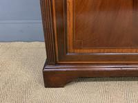 Good Edwardian Inlaid Mahogany Bookcase (8 of 16)