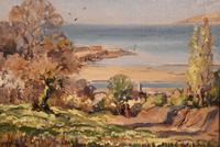 """Oil painting by Alec Caruthers Gould """"Porlock"""""""" (7 of 11)"""