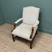 Fine Mahogany Gainsborough Antique Armchair (2 of 5)