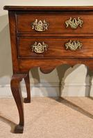 George III Lowboy on Square Cabriole Legs (5 of 7)
