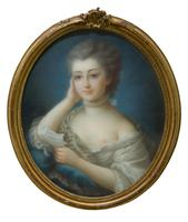 Oval Portrait of a Young Lady (2 of 6)