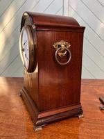 Antique Inlaid Mahogany Bracket Clock (5 of 9)