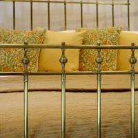 All Brass Antique Bed (2 of 6)