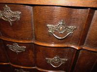 Dutch oak small chest of drawers. 18th century (9 of 9)