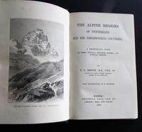 1868 The Alpine Regions of Switzerland & Neighbouring Countries by T G Bonney - 1st Edition (2 of 4)