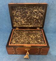 Victorian Walnut Inlaid Jewellery Box (9 of 12)