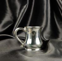 Late 1930's Miniature Silver Tankard (5 of 6)