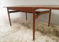 1960's Danish mid century dining table and 6 chairs (8 of 9)