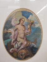 Exclusive Russian Symbolism Painting from Private Collection. #1 Female with a Fish (5 of 5)