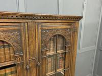 Ipswich Oak Bookcase c.1930 (7 of 13)