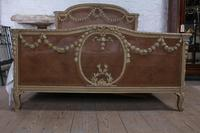 Spectacular small super king size French caned bed + (8 of 10)