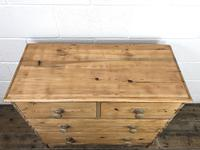 Victorian Pine Chest of Drawers (6 of 10)