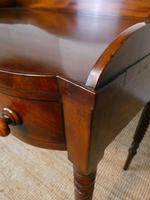 Irish Regency Mahogany Side Table (8 of 8)