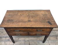Early 19th Century Oak Lowboy Side Table (5 of 13)
