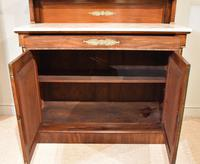 19th Centruy Marble Top Mahogany Chiffonier Sideboard (3 of 8)