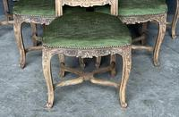 Set of 6 French Oak Farmhouse Dining Chairs (3 of 10)