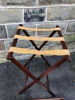 Antique Mahogany Butlers Tray on Stand (7 of 8)