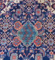 Antique Persian Hamadan Rug. Lovely Design (6 of 6)