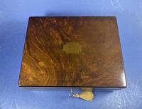 Victorian Walnut Jewellery Box (4 of 13)