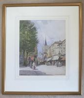 William Tatton Winter Watercolour 'St Georges Canterbury' (2 of 2)