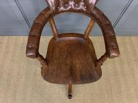 Victorian Revolving Desk Chair by Jas Shoolbred & Co (10 of 10)