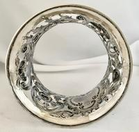 Rare Silver Irish Dish 'Potato' Ring. Dublin 1902 (5 of 6)