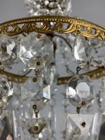 Early 20th Century Bag Chandelier, Ceiling Light, Rewired (4 of 12)