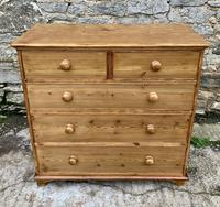Antique Pine Chest of Drawers (16 of 17)