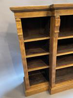 Victorian  Breakfront Bookcase (5 of 11)