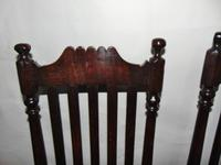 Pair of Jacobean High Back Oak Chairs (3 of 8)