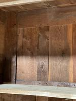 Wonderful French Empire Period Bleached Oak Linen Press (21 of 32)