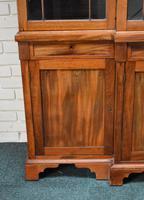 19th Century Victorian Mahogany Breakfront Bookcase (7 of 11)