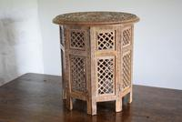 Anglo Indian Table with Circular Carved Top (4 of 10)