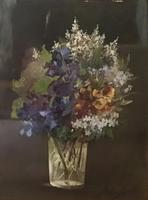 Ada Whaley Bell  1880 -1903 Oil on Canvas  Still Life Flowers (4 of 5)