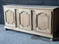 Large French Bleached Oak Enfilade or Sideboard (7 of 19)