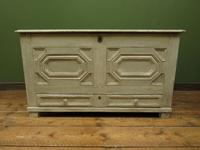 Large Gustavian Style Painted Coffer Blanket Box, Scandanavian Painted Chest (6 of 20)