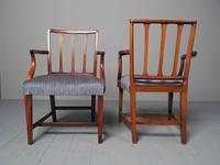 Antique Set of 8 George III Mahogany Dining Chairs (6 of 11)