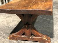 Huge Rustic Chestnut French Farmhouse Dining Table (14 of 27)