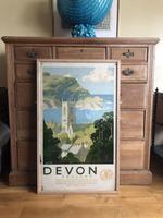 Devon Great Western Railway Poster by Alker Tripp 1930s (2 of 7)