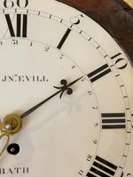 Rare Wall Clock with Enamel Dial (5 of 6)