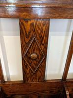 Oak Mirrored  Hall Stand (5 of 8)