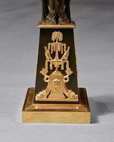 Important Pair of Early Empire French Gilt-Bronze Candelabra Attributed to Claude Galle (10 of 10)