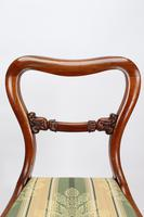 Set of 5 Antique Victorian Mahogany Balloon Back Chairs (12 of 13)