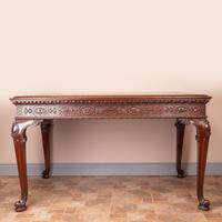 Superb Quality Mahogany Chippendale Design Writing Table (16 of 23)