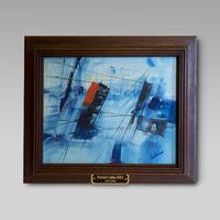 Patrick Collins, RHA (1911-94) Irish Academy acrylic on panel.