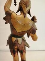 A pair of unusual 19th century cold painted figures of jesters (14 of 18)