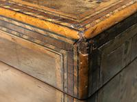 Fine Antique Mid Victorian 19th Century Tunbridge Sewing Workbox Parquetry Inlaid (8 of 12)